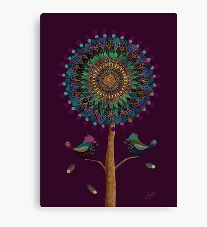 The Mandala Tree Canvas Print