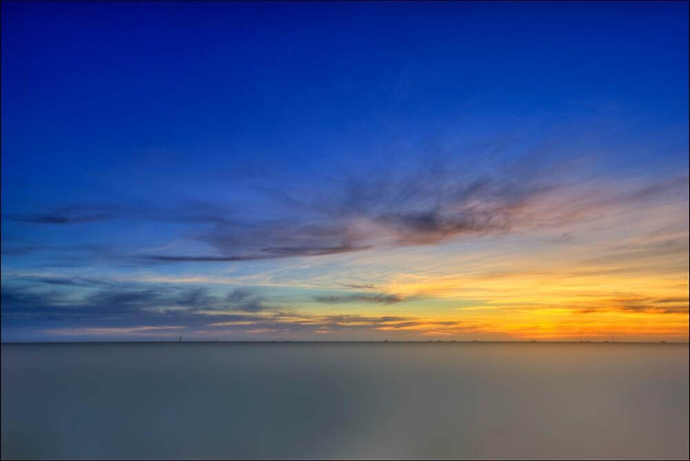 Denham Sunset by Damiend