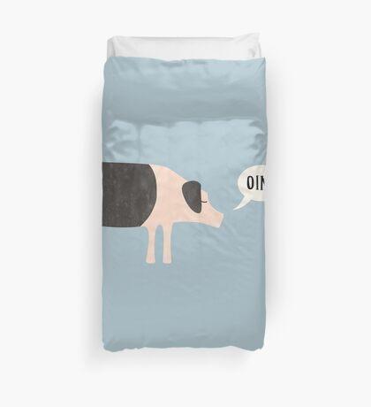Oink Duvet Cover
