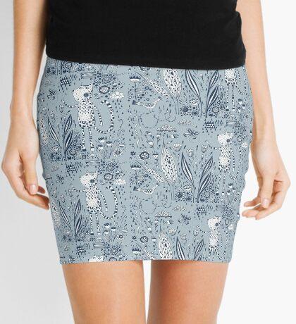 Many Happy Hours in the Garden Mini Skirt