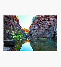 Joffre Gorge Western Australia Photographic Print