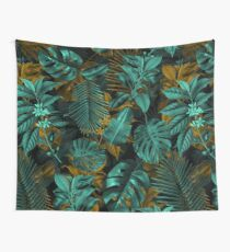 TROPICAL GARDEN VII Wall Tapestry