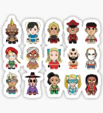 Street Fighter Sticker