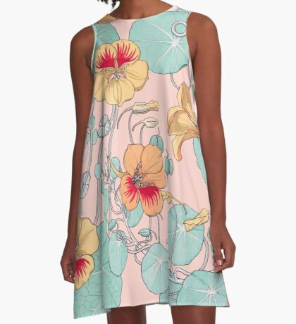 Lily Pond #redbubble #decor #buyart A-Line Dress