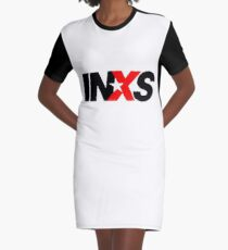 INXS Graphic T-Shirt Dress