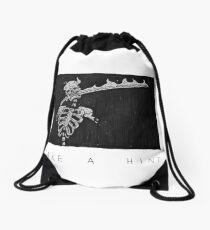 Take a Hint Drawstring Bag