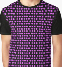 Move Combo Purple on Black Graphic T-Shirt