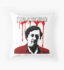 Pablo Escobar  Throw Pillow