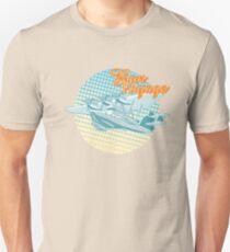 Cartoon Retro Sea Plane Unisex T-Shirt