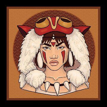 Mononoke  by ShadoCanary