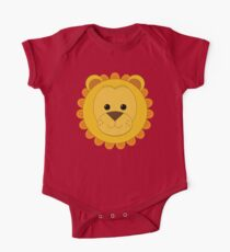 Cute Lion One Piece - Short Sleeve