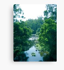 Tranquil Summer River Canvas Print