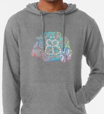 Rainbow Flower #RBSTAYCAY Leichter Hoodie