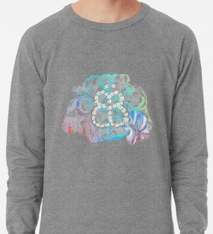 Rainbow Flower #RBSTAYCAY Leichtes Sweatshirt
