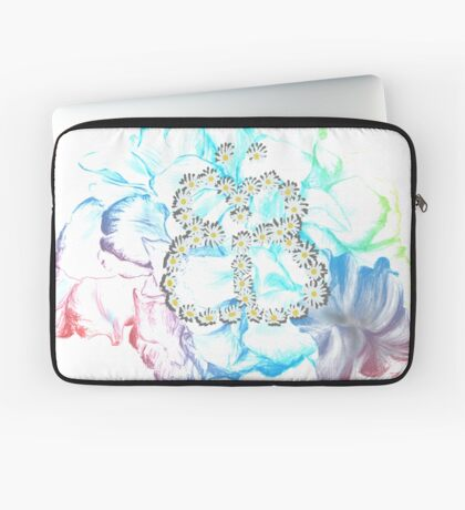 Rainbow Flower #RBSTAYCAY Laptoptasche