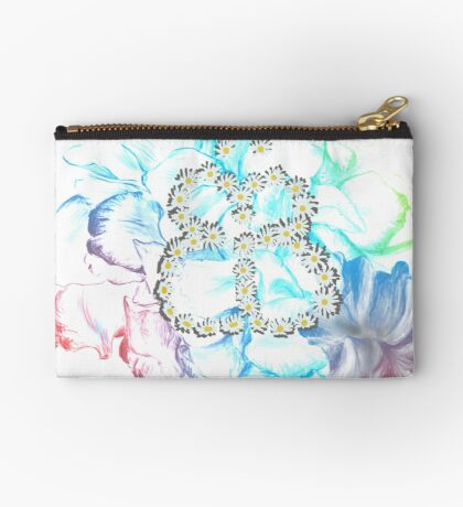 Rainbow Flower #RBSTAYCAY Studio Clutch