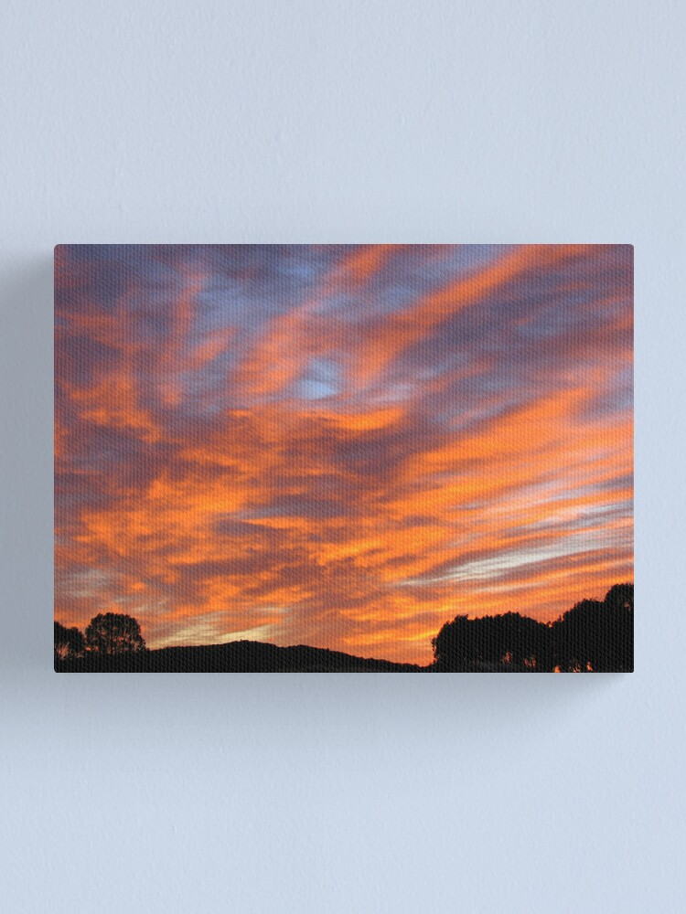 Alternate view of Morning Glory Canvas Print