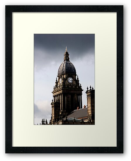 Leeds Town Hall Clock by Rob  Ford