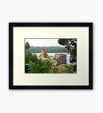 Location Location - Wilderness, Tasmania Framed Print