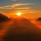 Sonneuntergang  by GOSIA GRZYBEK