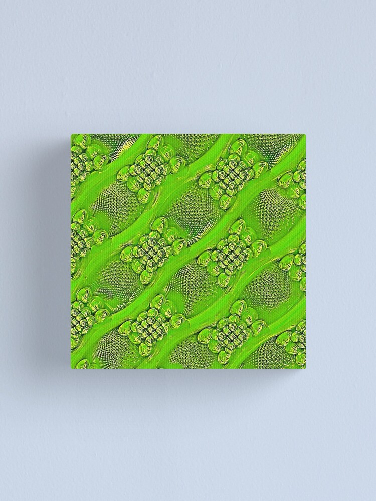 Alternate view of Golden green Canvas Print