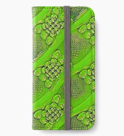 Golden green iPhone Wallet