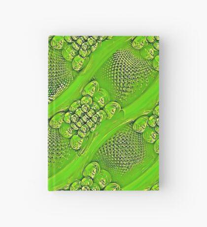 Golden green Hardcover Journal