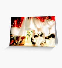 Flying Feat Greeting Card