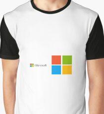 Microsoft Logo Graphic T-Shirt