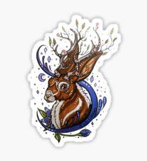 Spring Jackalope Sticker