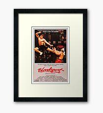 Bloodsport Framed Print