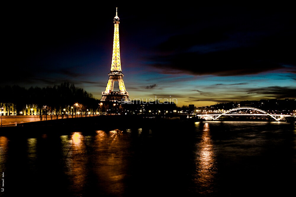 Paris By Night by samuelcain