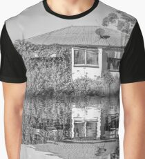 Reflection of Time Graphic T-Shirt