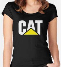 CATERPILLAR 3 Women's Fitted Scoop T-Shirt