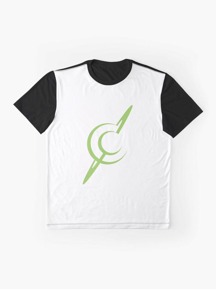 Alternate view of Cosmic Cloud Logo - Planet and Moon Graphic T-Shirt