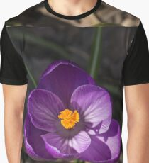 The First Crocus Celebrating Spring Graphic T-Shirt