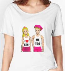 I Love Ken! (Me Too). Funny, Gay Art Women's Relaxed Fit T-Shirt
