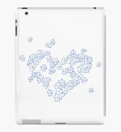 Forget-me-not iPad-Hülle & Skin