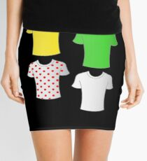 Tour de France shirts Mini Skirt