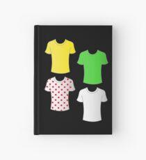 Tour de France shirts Hardcover Journal