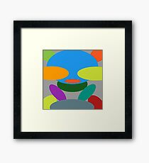 Kids bear Framed Print