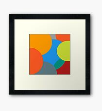 Kids balls Framed Print