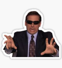 Michael Scott Lustige Meme Sticker