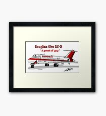 Allegheny Airlines DC-9 Framed Print