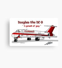 Allegheny Airlines DC-9 Canvas Print