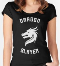 dragon slayer Women's Fitted Scoop T-Shirt