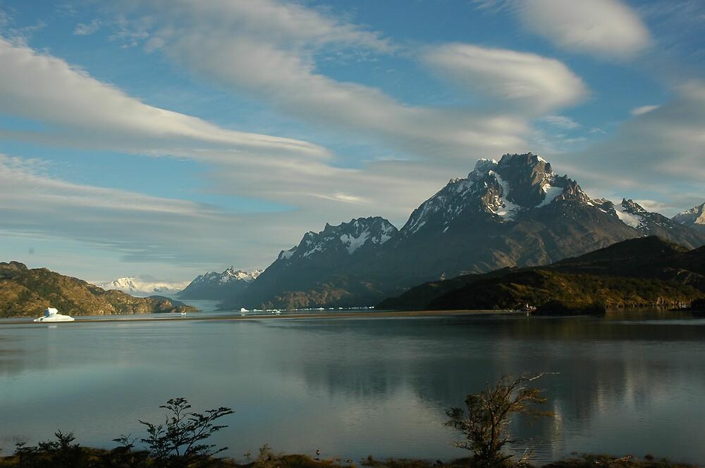 Lago Grey & Grey Glacier by Linda Mottram