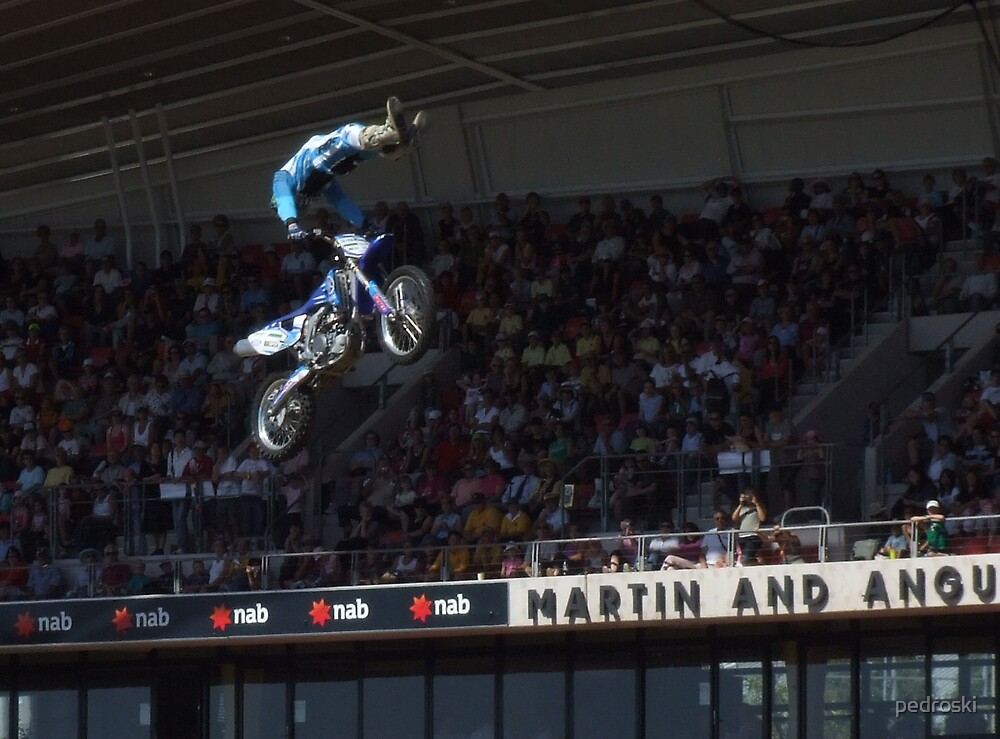 Freestyle Moto X Sydney Royal Show by pedroski