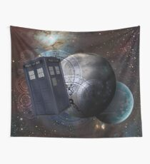 Time Flight 2 Wall Tapestry