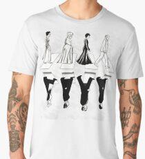 downton abbey road Men's Premium T-Shirt
